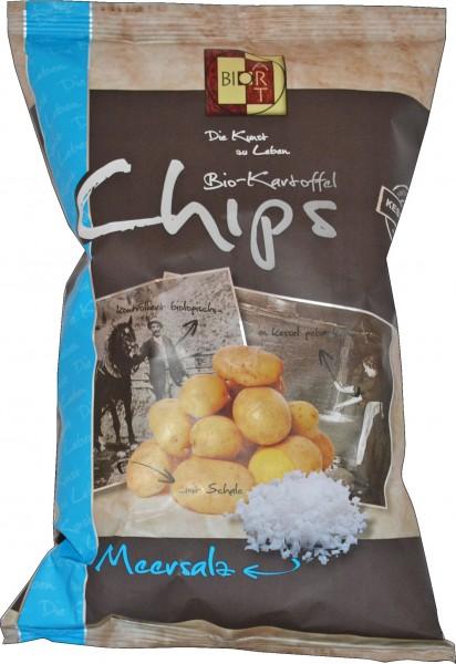 BioArt Kartoffelchips Meersalz 40g