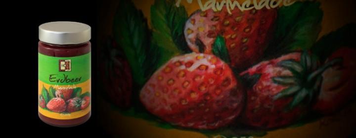 BioArt Erdbeer Marmelade 250g